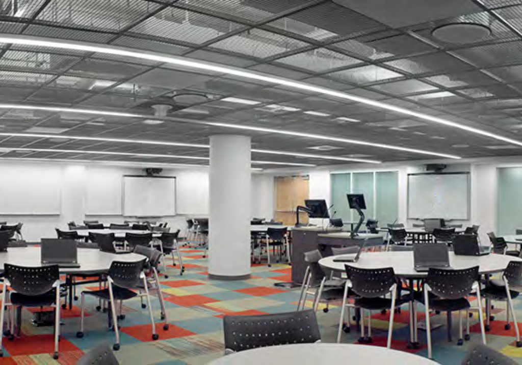 Reshaping Space to Facilitate Learning: SCALE-UP