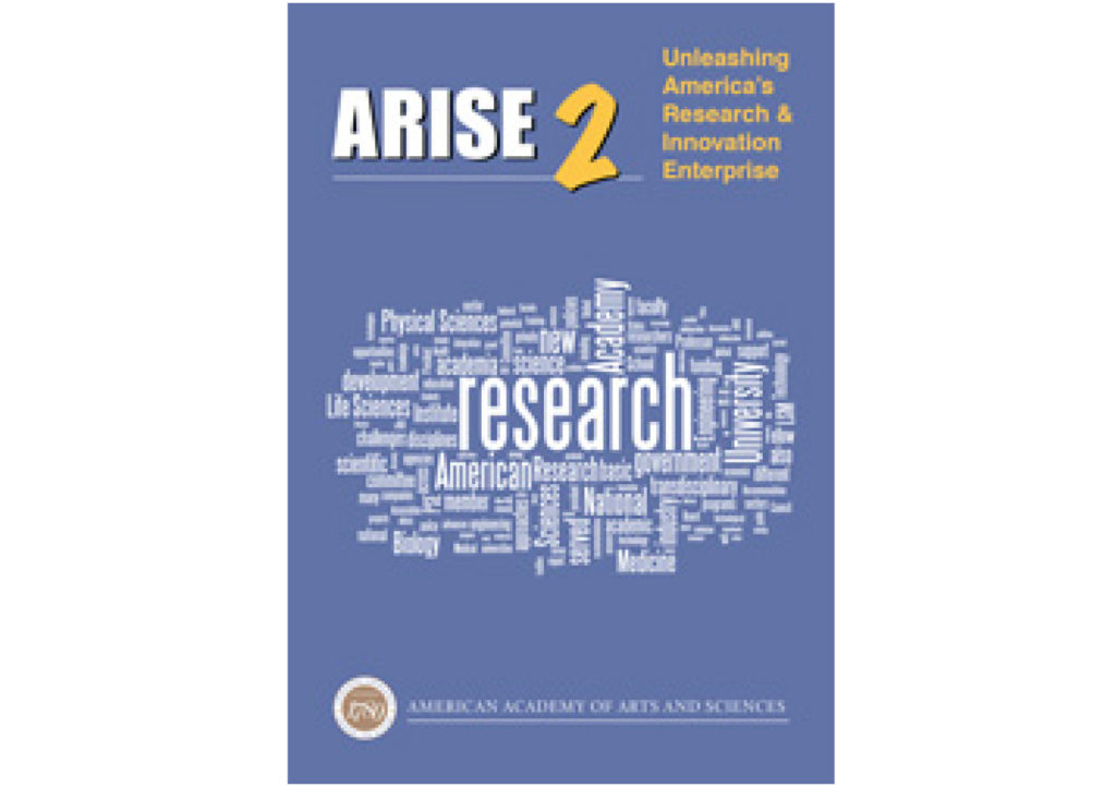 ARISE 2: Unleashing America's Research & Innovation Enterprise