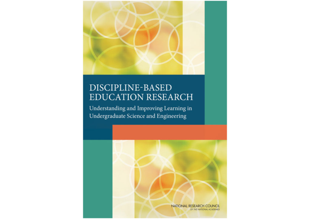Discipline-Based Education Research (DBER)
