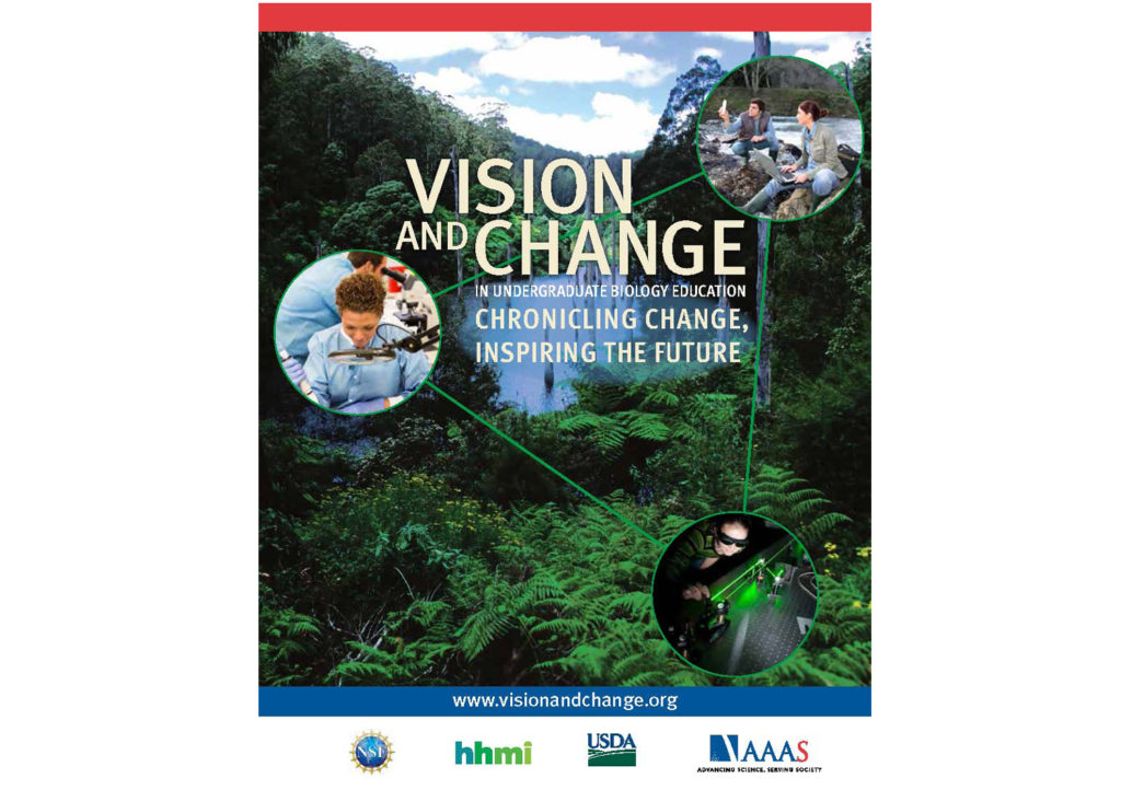 Excerpts from Vision and Change in Undergraduate Biology Education