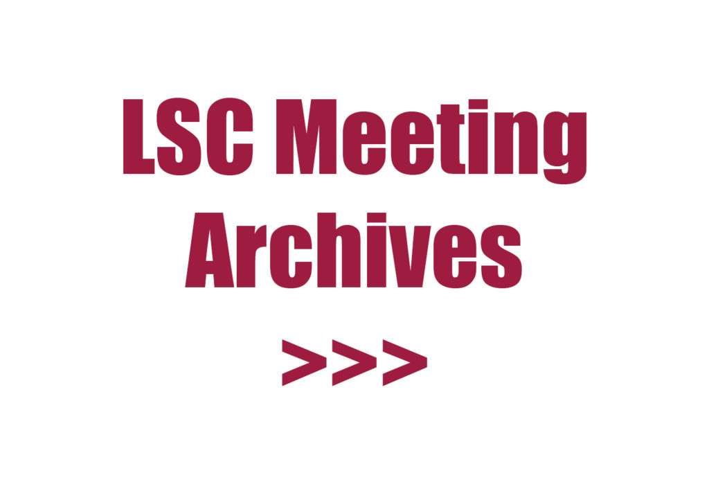 LSC Meeting Archives